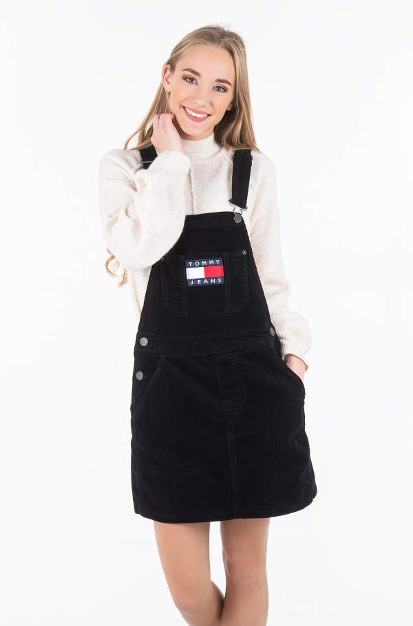 TJW DUNGAREE DRESS-hover