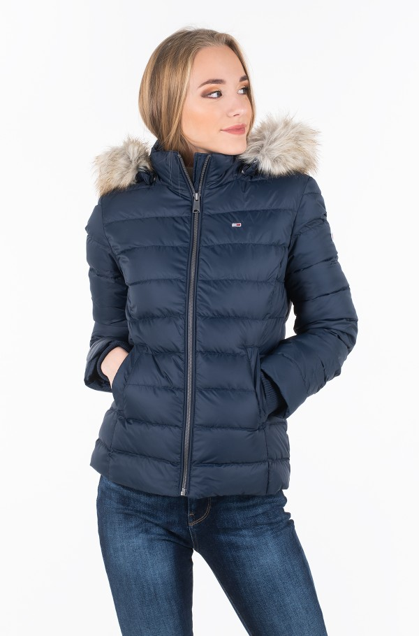 TJW ESSENTIAL HOODED DOWN JACKET DW0DW06774-hover