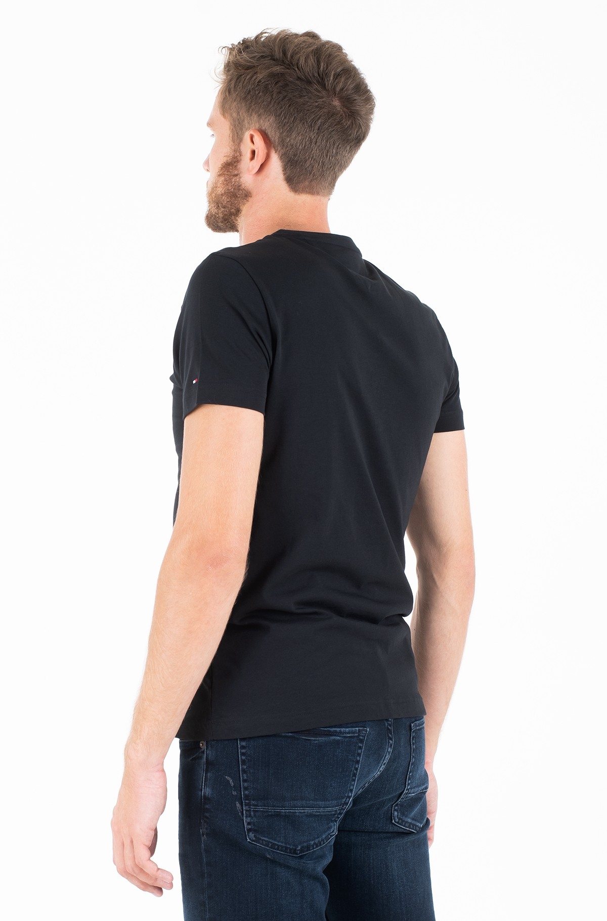 Marškinėliai CORE TOMMY LOGO TEE-full-2