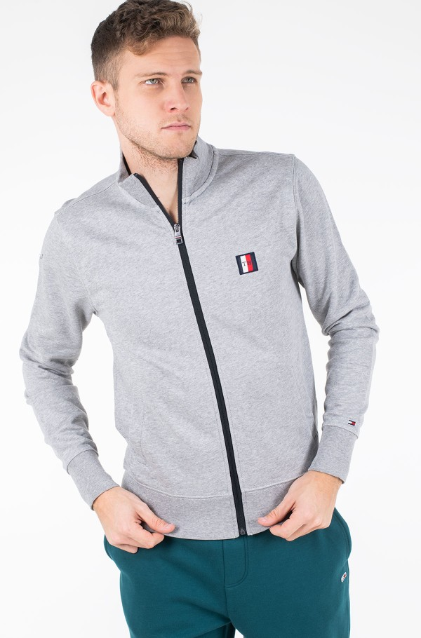 TOMMY LOGO ZIP THROUGH-hover