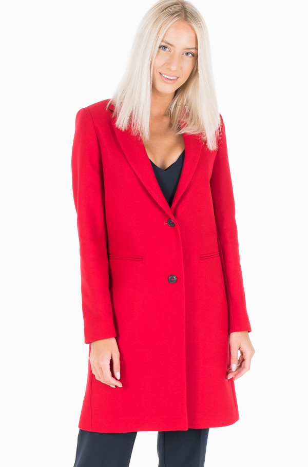 BELLE WOOL BLEND CLASSIC  COAT-hover