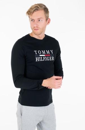 Pikkade käistega t-särk TOMMY HILFIGER LONG SLEEVE TEE-1