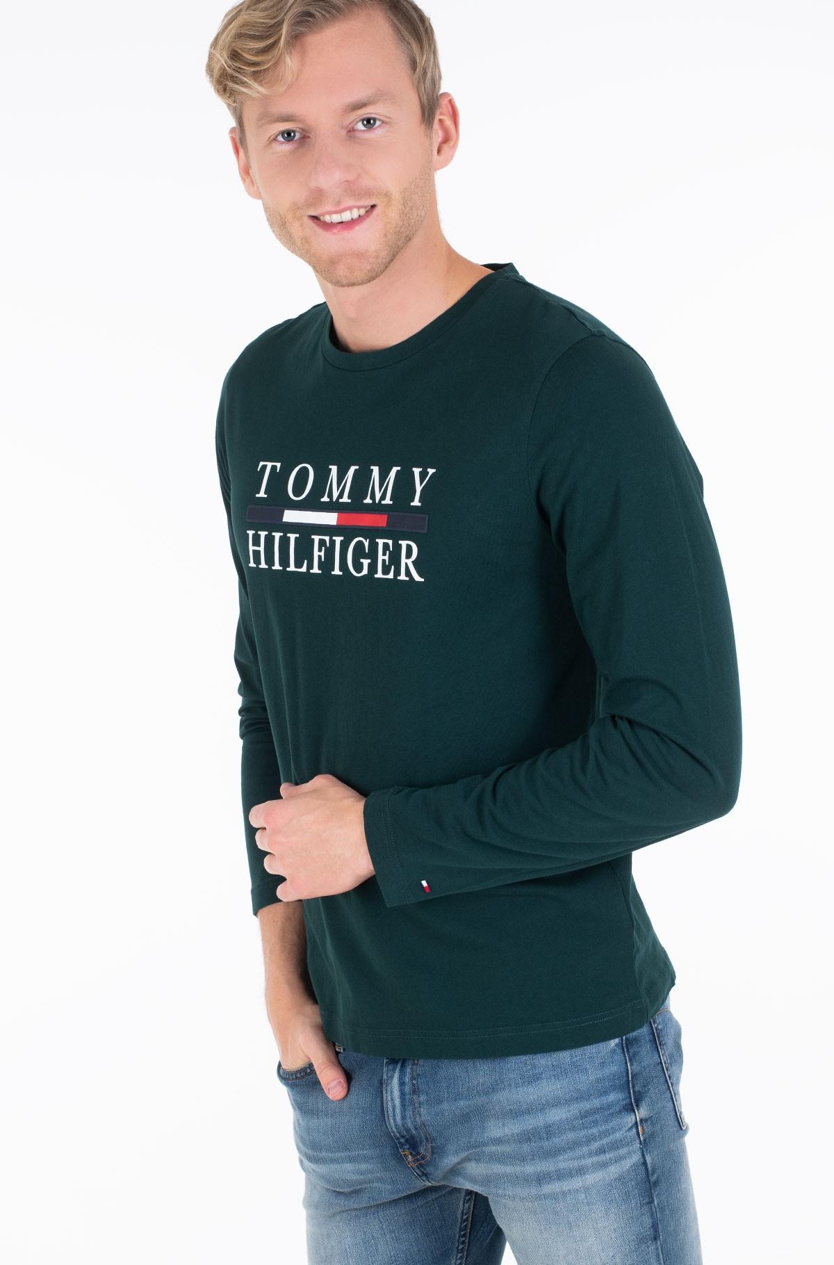 Palaidinė ilgomis rankovėmis TOMMY HILFIGER LONG SLEEVE TEE-full-1