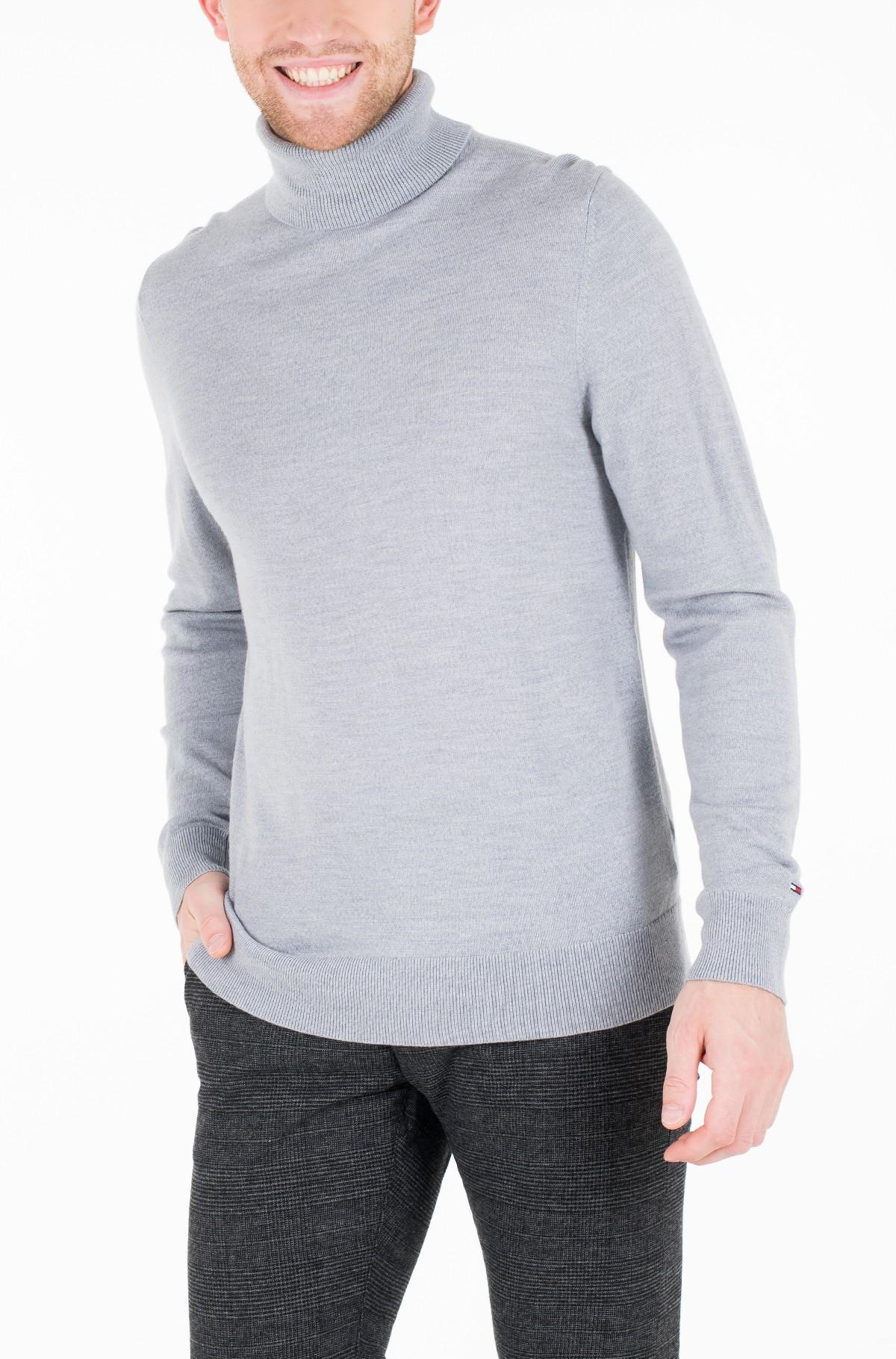Megztinis LUXURY WOOL ROLL NECK-full-2