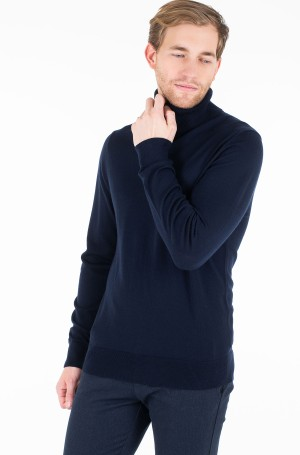 Megztinis LUXURY WOOL ROLL NECK-1