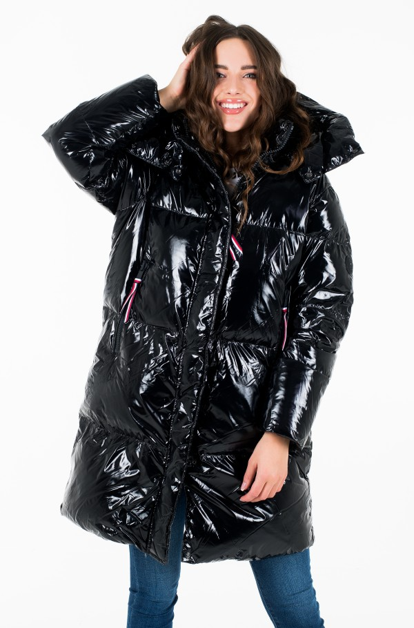PALMER GLOSSY DOWN COAT-hover