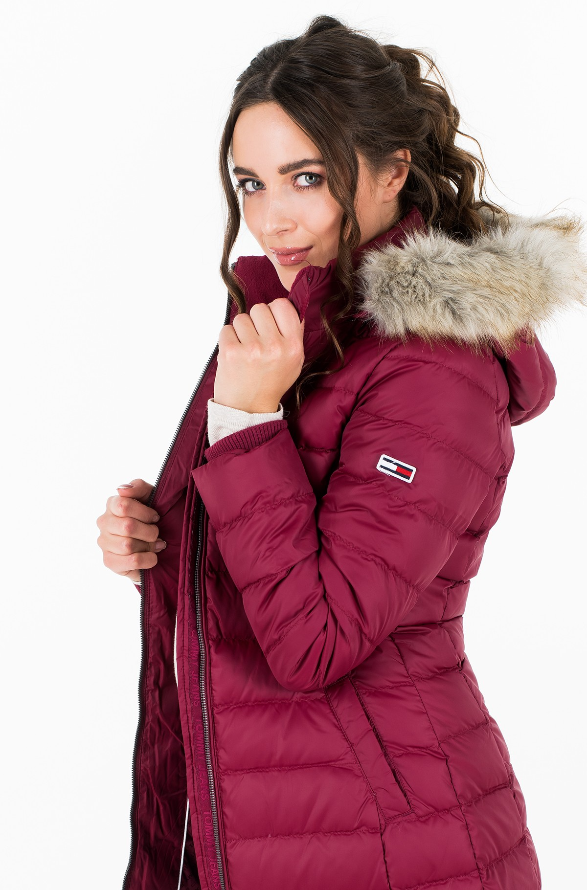 Paltas TJW ESSENTIAL HOODED DOWN COAT-full-1