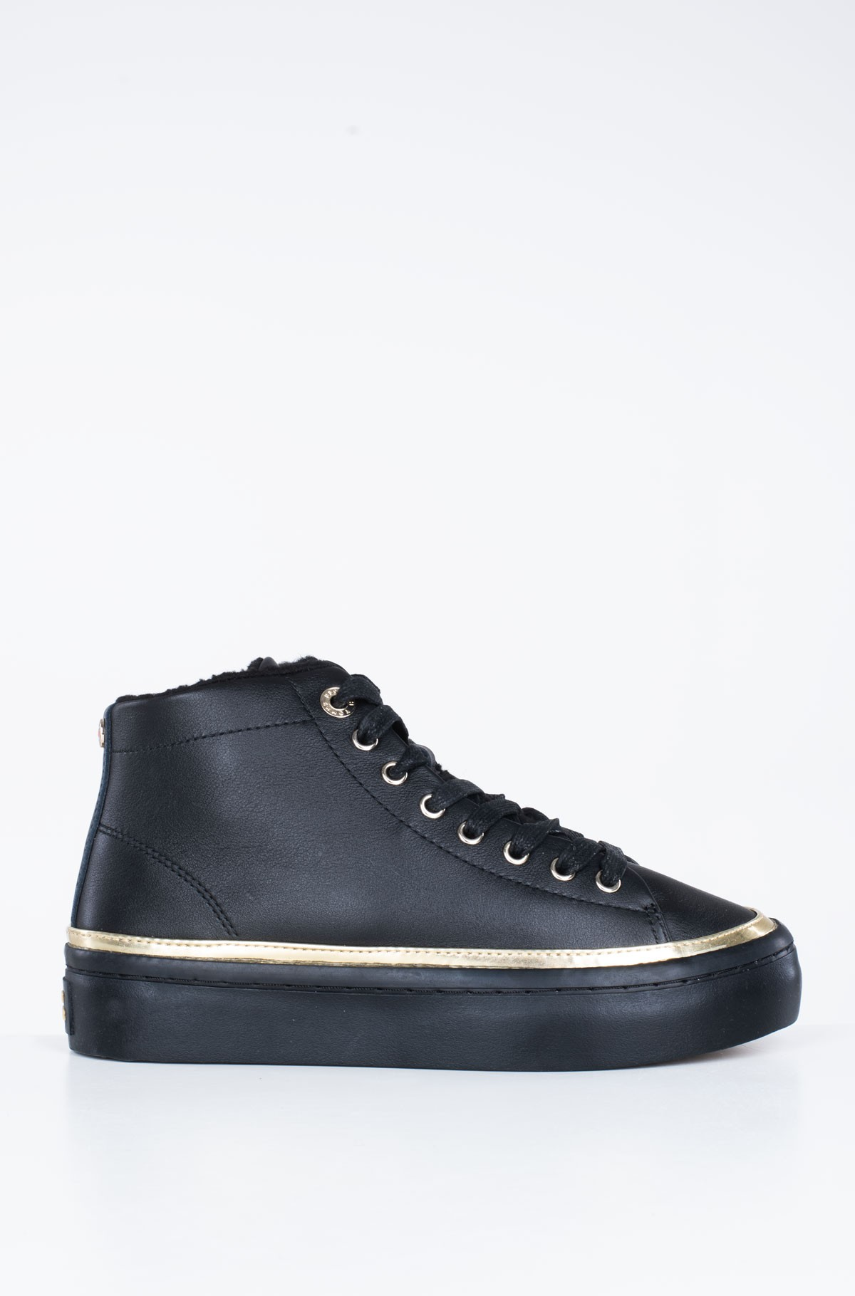 Avalynė MIDCUT COSY LEATHER SNEAKER-full-1