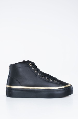 Avalynė MIDCUT COSY LEATHER SNEAKER-1