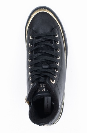 Avalynė MIDCUT COSY LEATHER SNEAKER-3
