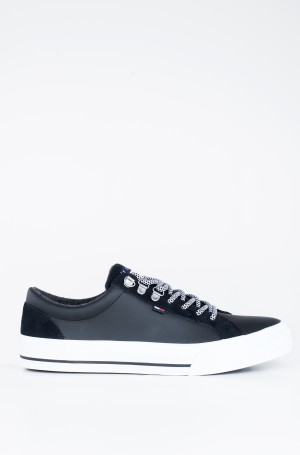 Tennised WARMLINED CLASSIC LOWTOP SNEAKER-1