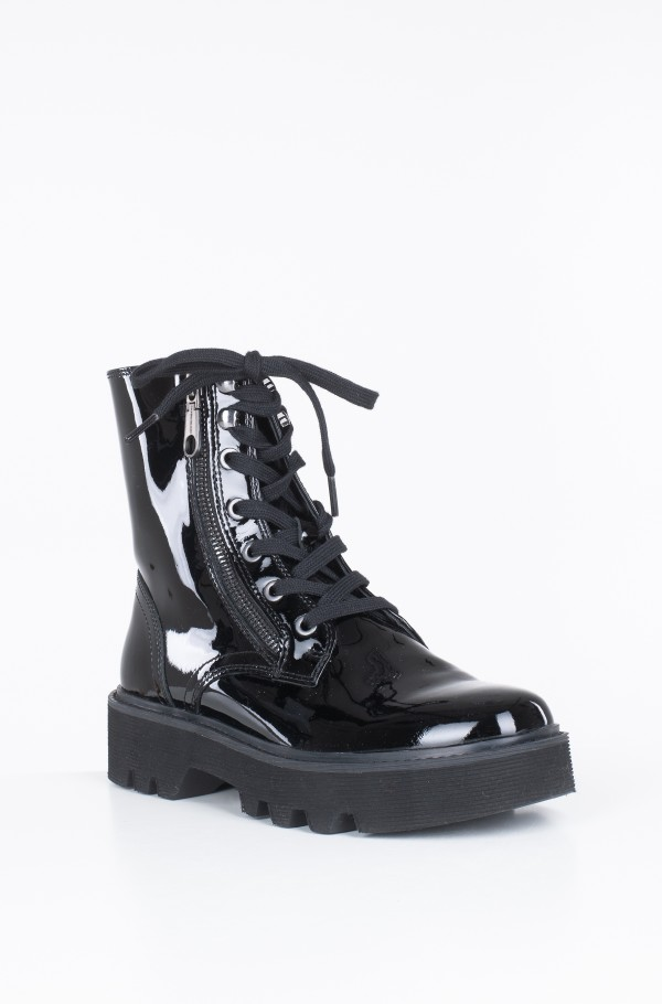 DIAHNE LACE UP BOOTIE-hover
