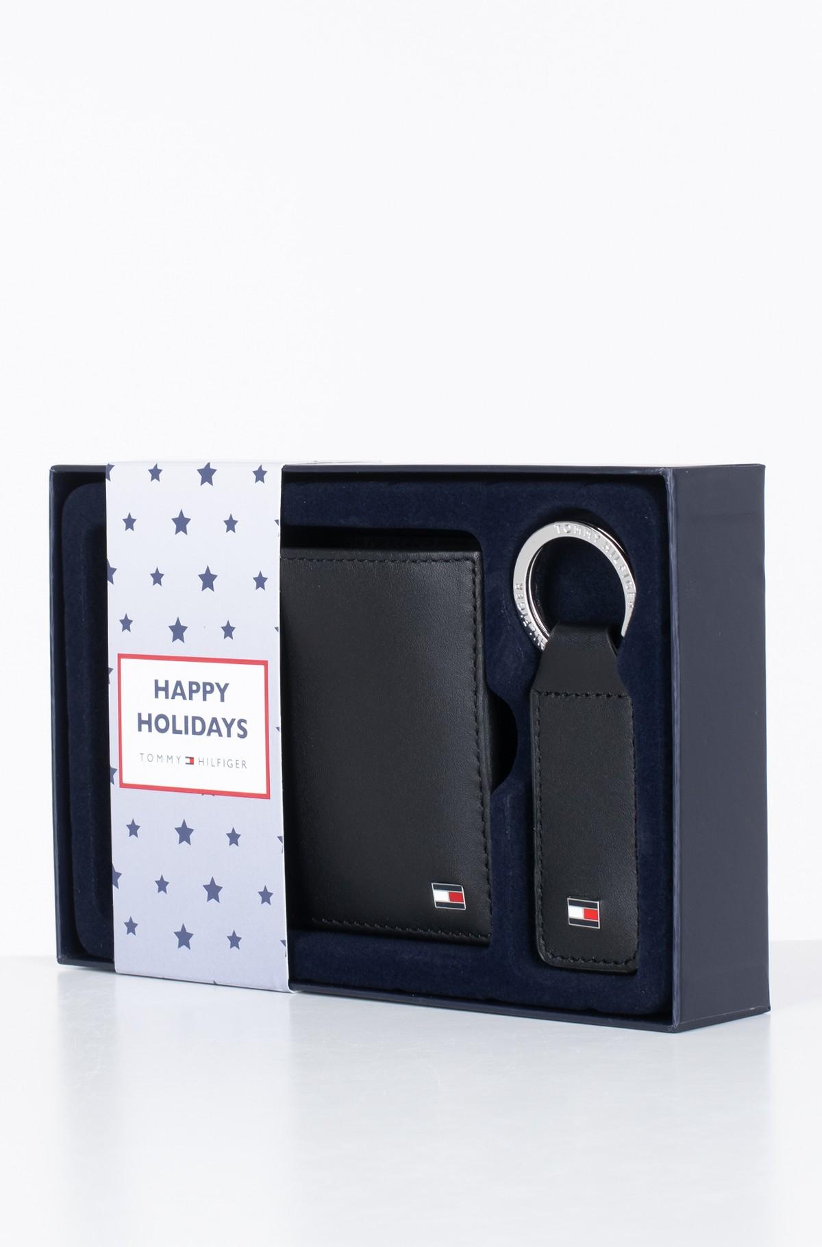 Piniginė ir žiedas raktams dovanų dėžutėje ETON CC AND COIN PCKT KEYFOB BOX-full-1