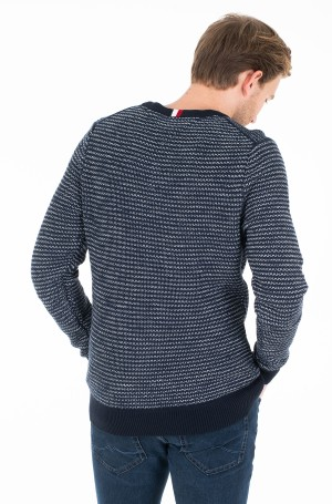 Kampsun HONEYCOMB SLUB SWEATER-2