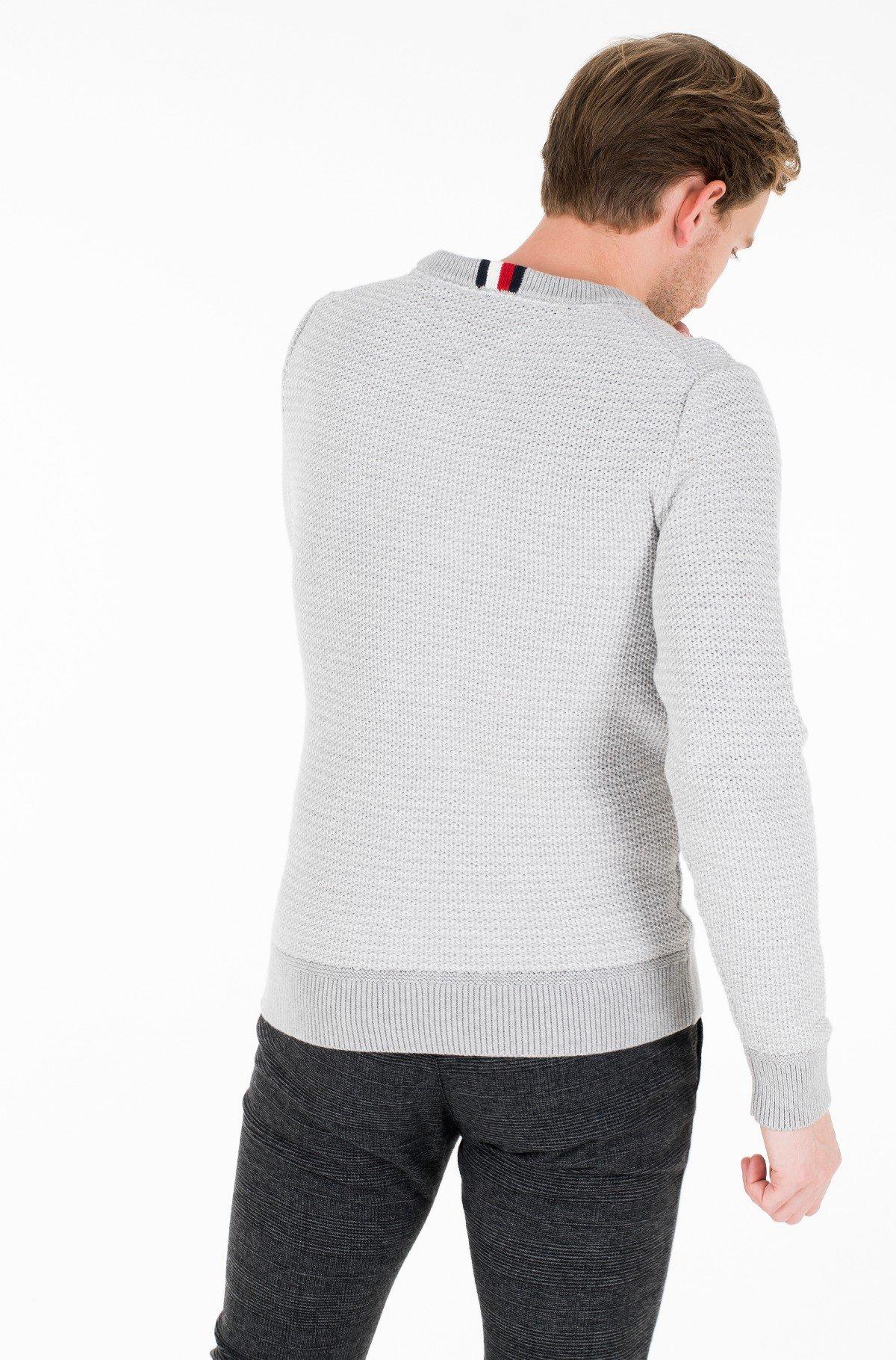 Megztinis HONEYCOMB SLUB SWEATER-full-3
