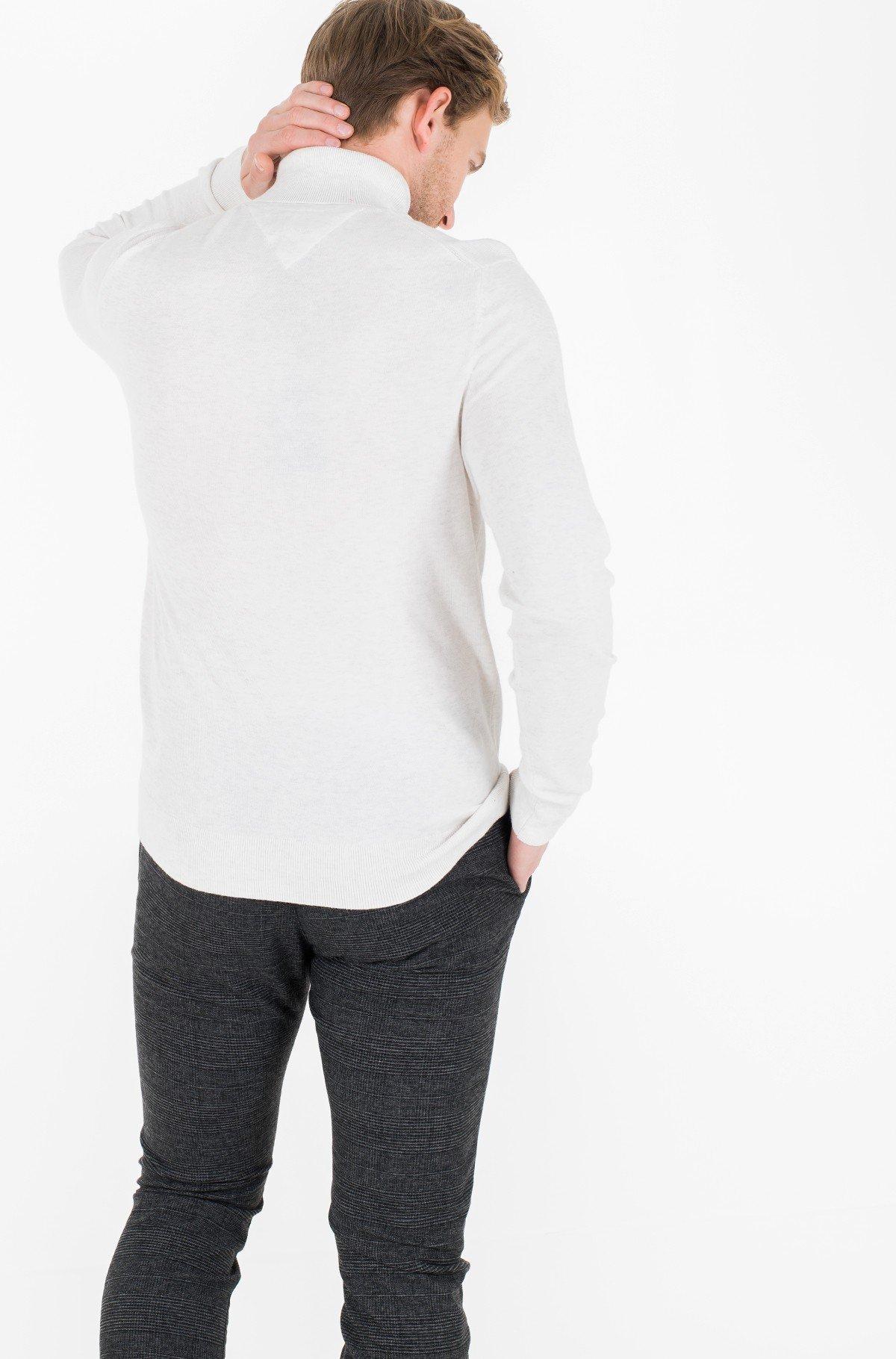 Džemperis ORGANIC COTTON SILK ROLL NECK-full-2