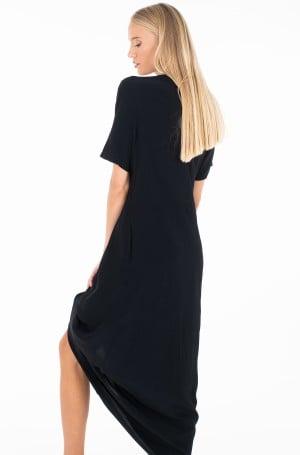 Dress SS LOGO STRAP MIDI DRESS-4