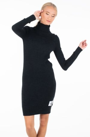 Knitted dress MONOGRAM TN SWEATER DRESS-3