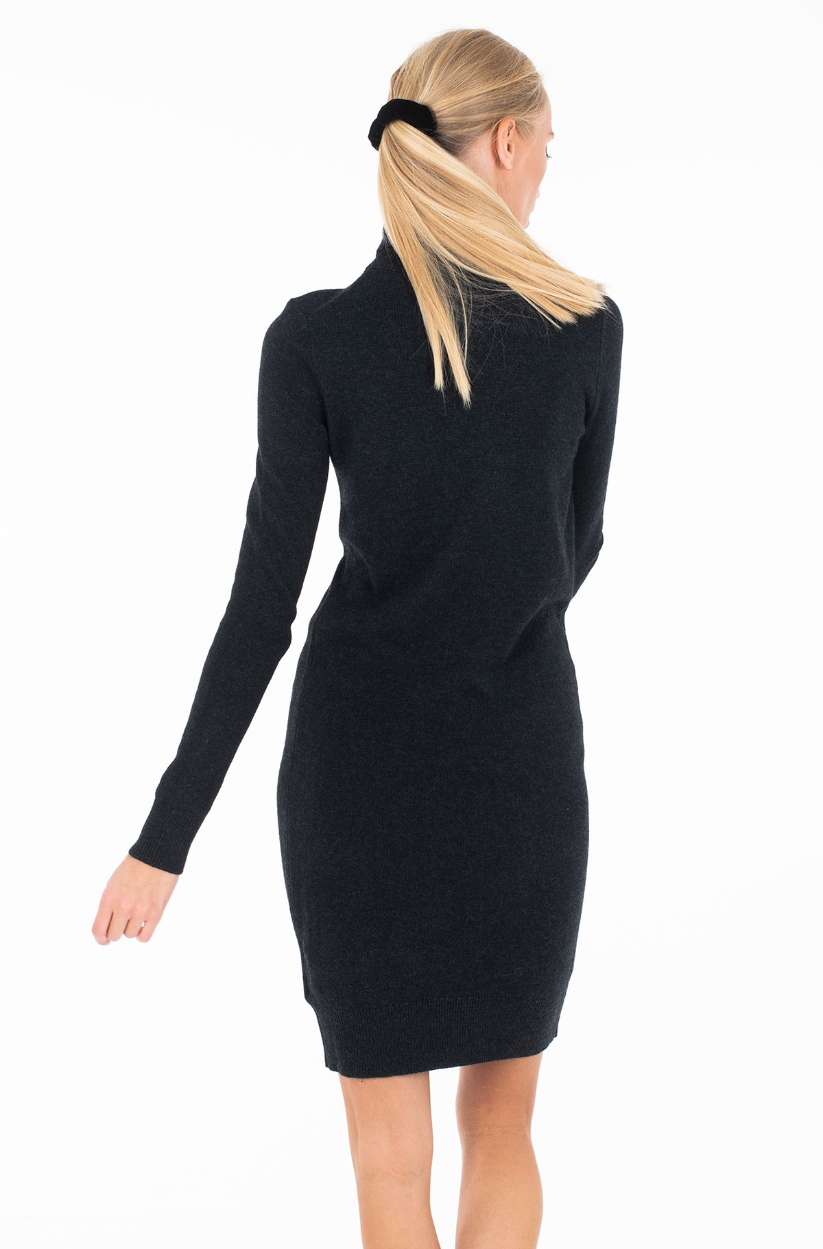 Knitted dress MONOGRAM TN SWEATER DRESS-full-4