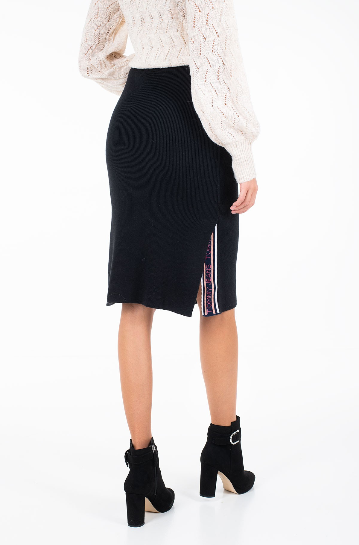Sijonas TJW TAPE DETAIL SKIRT-full-3