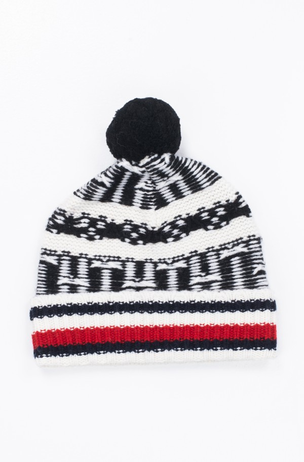 TH FAIRISLE BEANIE
