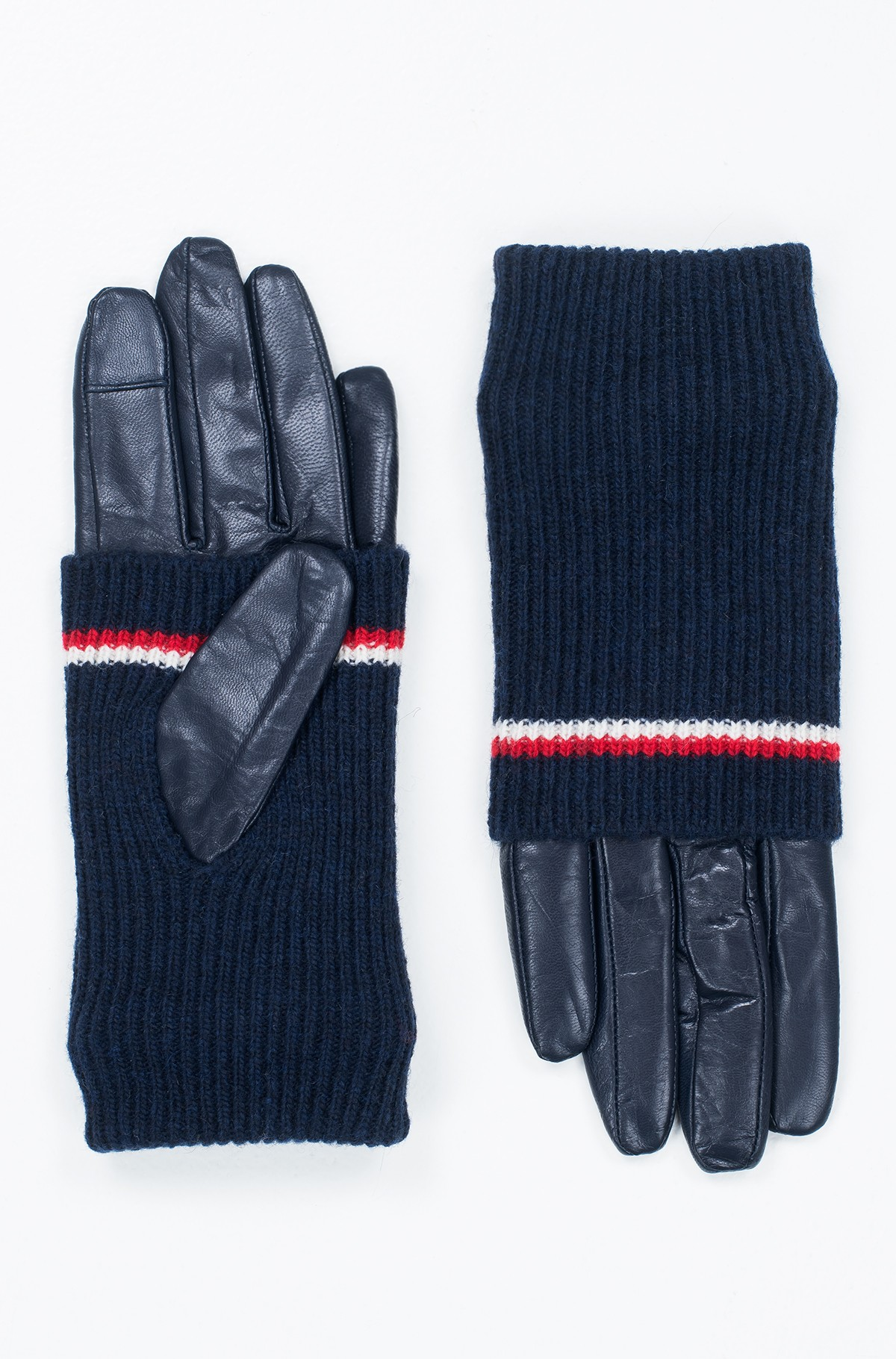Gloves LONG CUFF LEATHER GLOVES-full-3
