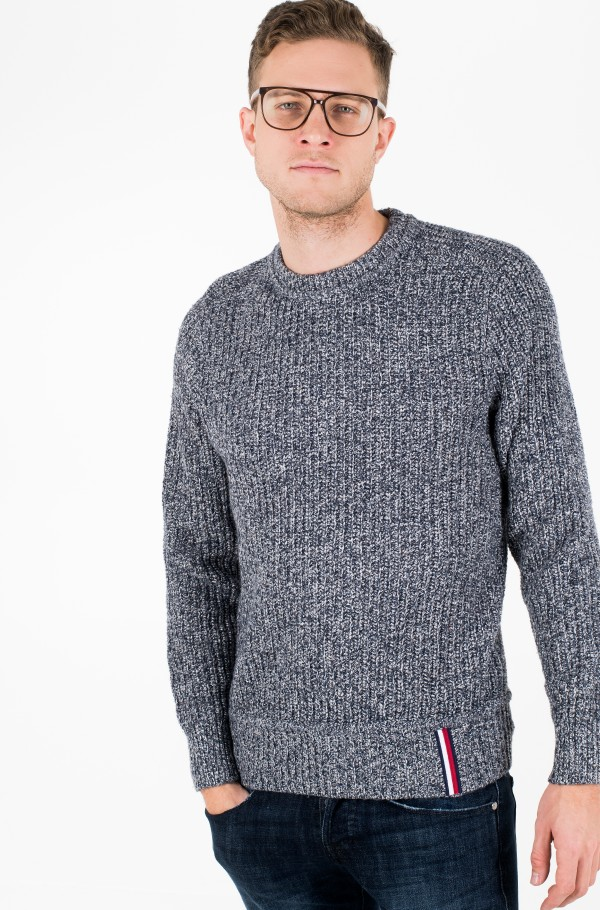 PRETWISTED RIB DETAILED SWEATER-hover