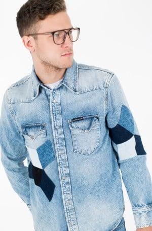 Džinsiniai marškiniai FOUNDATION WESTERN SHIRT-2
