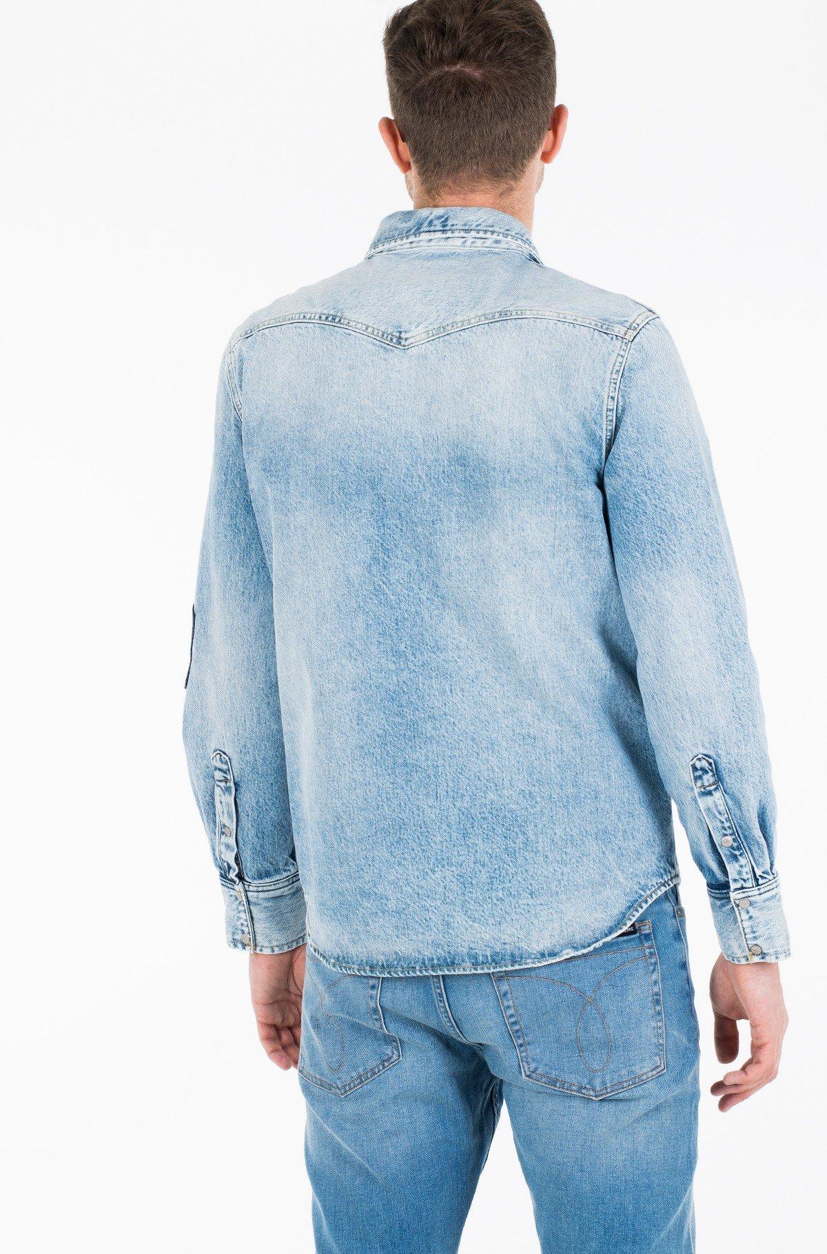 Džinsiniai marškiniai FOUNDATION WESTERN SHIRT-full-3