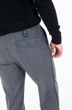 Trousers WIDE 1 PLEAT FIT WOOL SLACKS-2