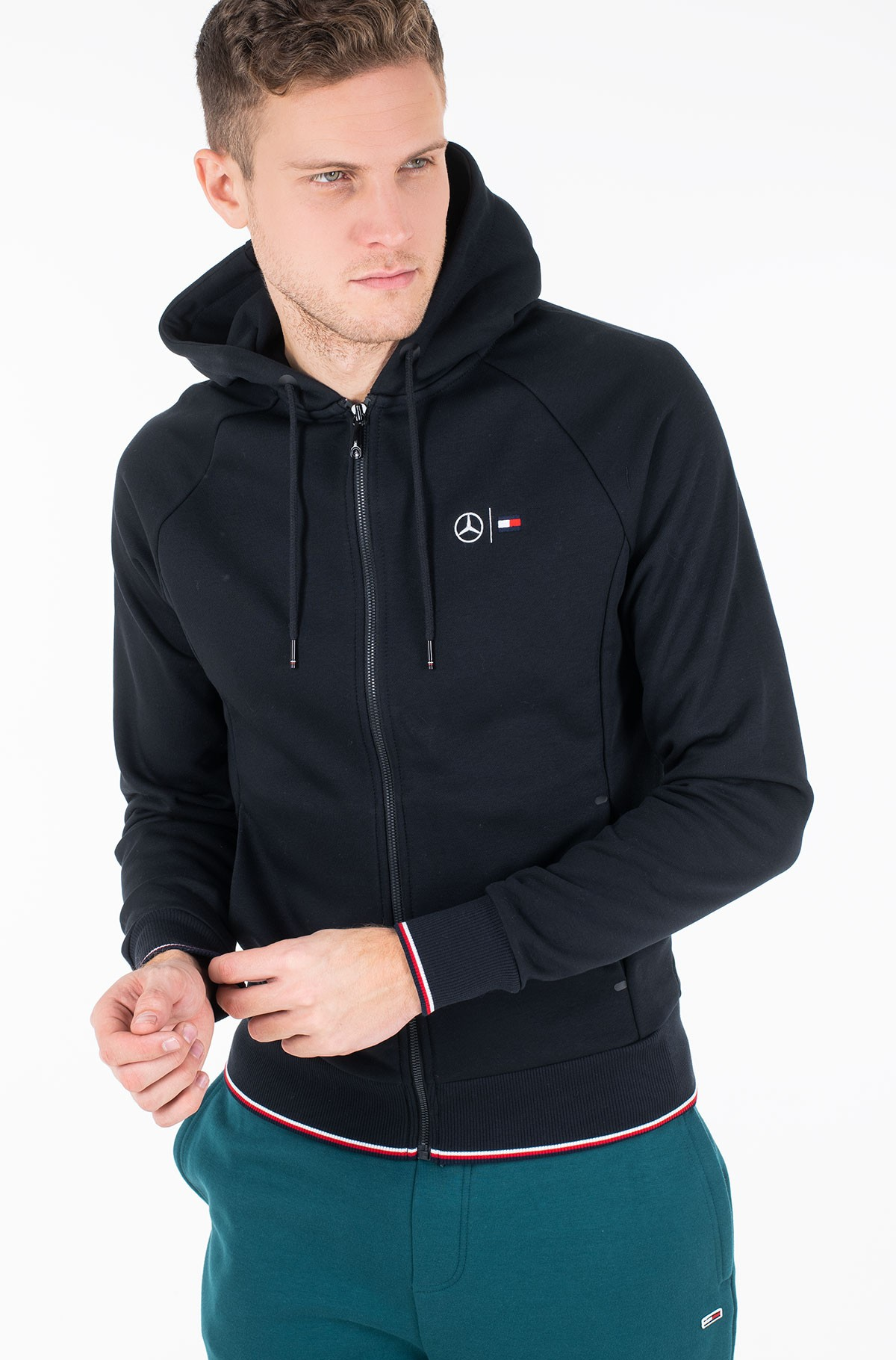 Hoodie 2 MB TECH FLEECE SWEAT ZIP THRU	-full-1