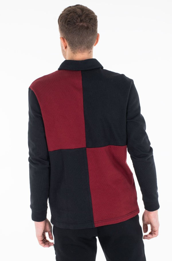 LH COLOUR BLOCK RUGBY SHIRT-hover