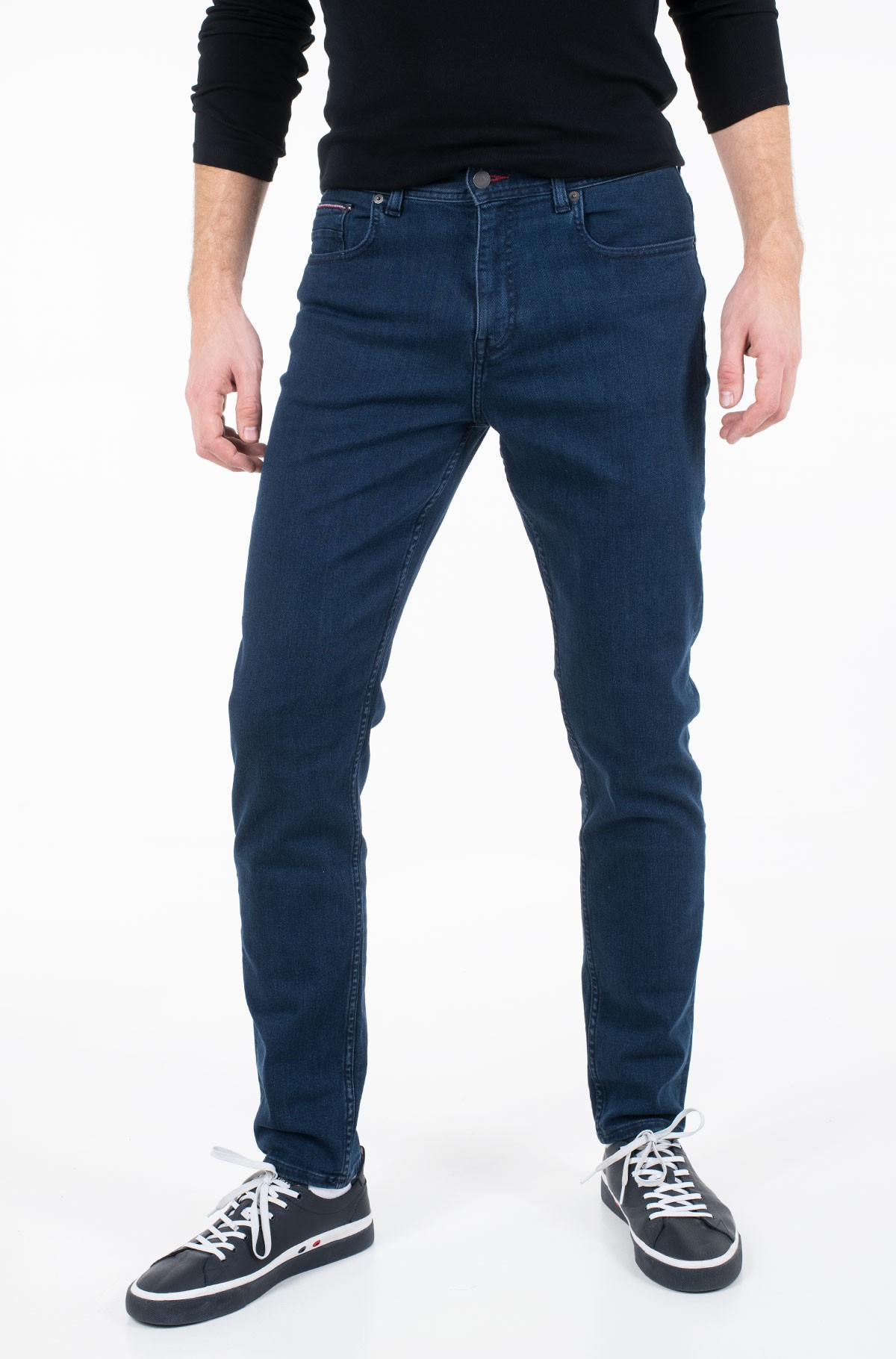 Teksapüksid TAPERED PSTR LAIRD BLUE-full-1