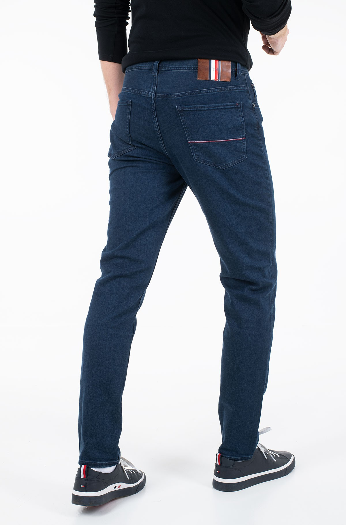 Teksapüksid TAPERED PSTR LAIRD BLUE-full-2