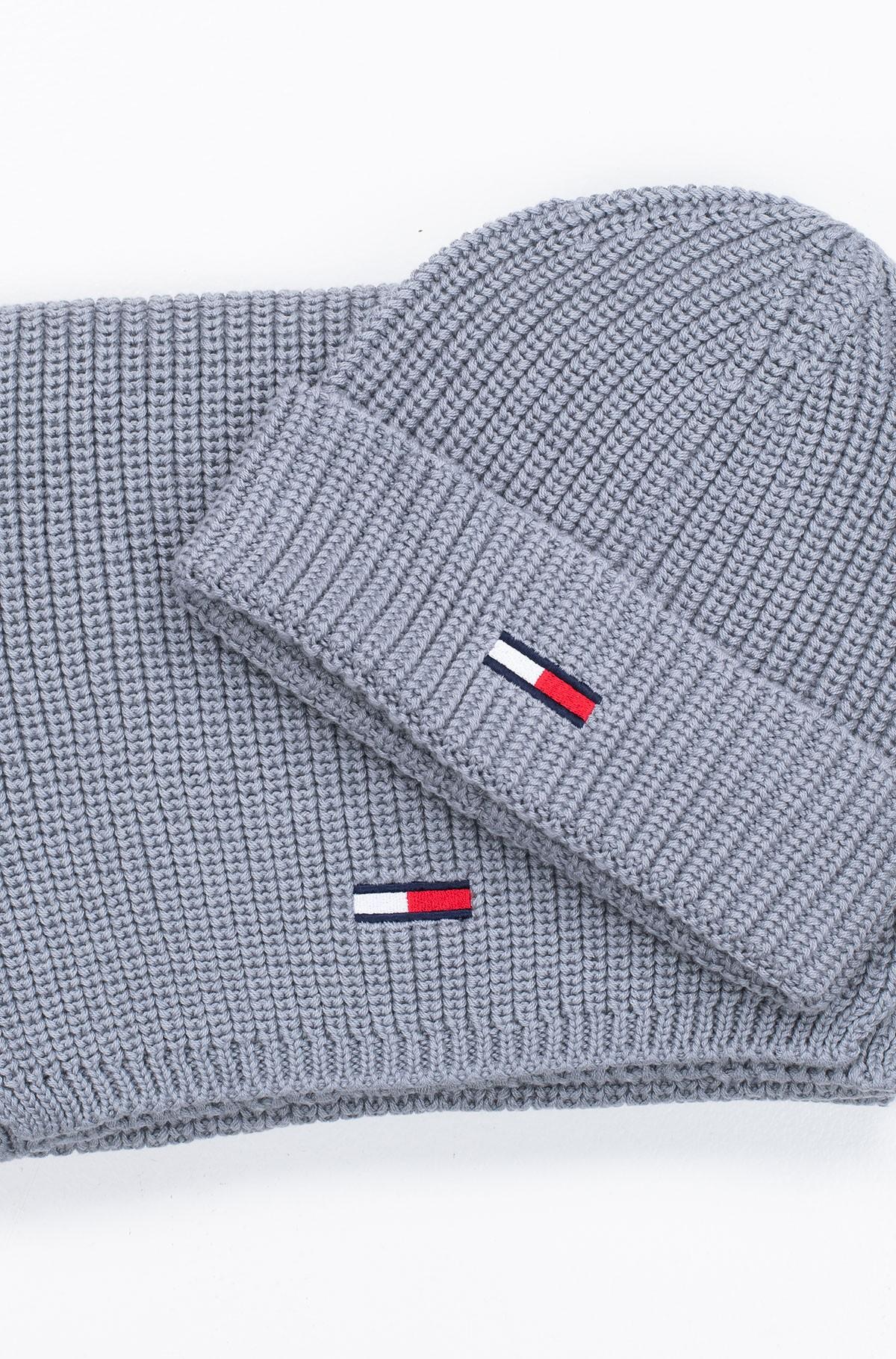 Kepurės ir šaliko komplektas TJM BASIC RIB SCARF & BEANIE GP-full-1
