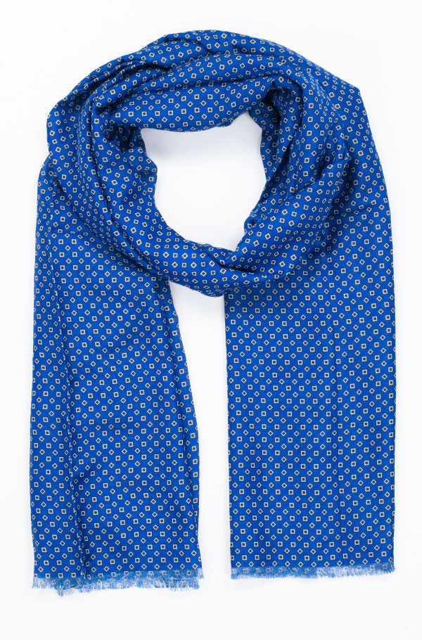 MICRO PRINT SCARF-hover