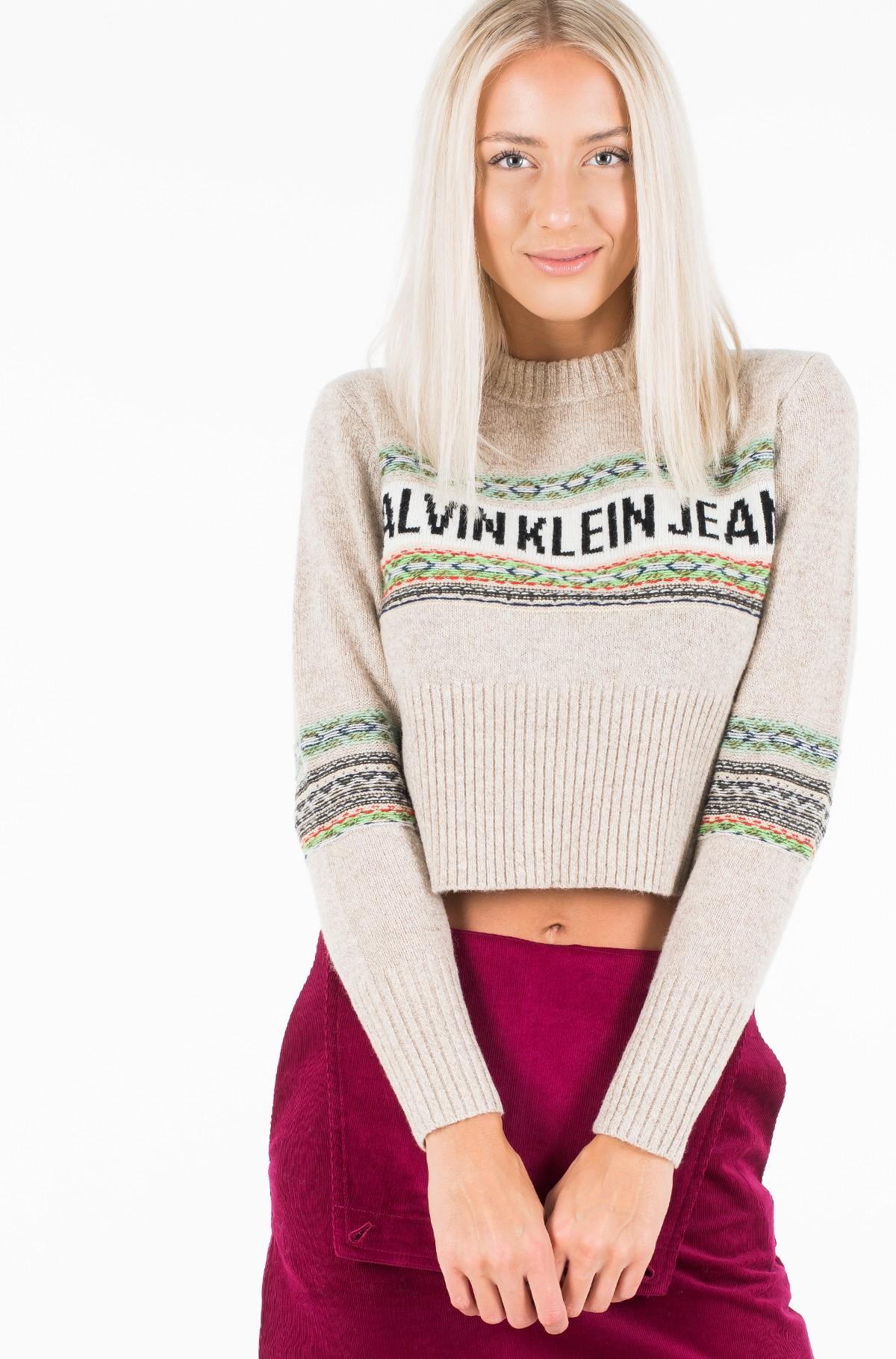 Sweater REVERSE FAIRISLE SWEATER-full-2