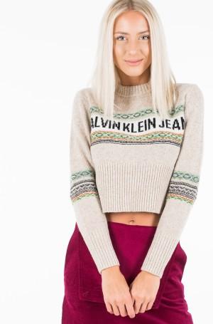 Sweater REVERSE FAIRISLE SWEATER-2