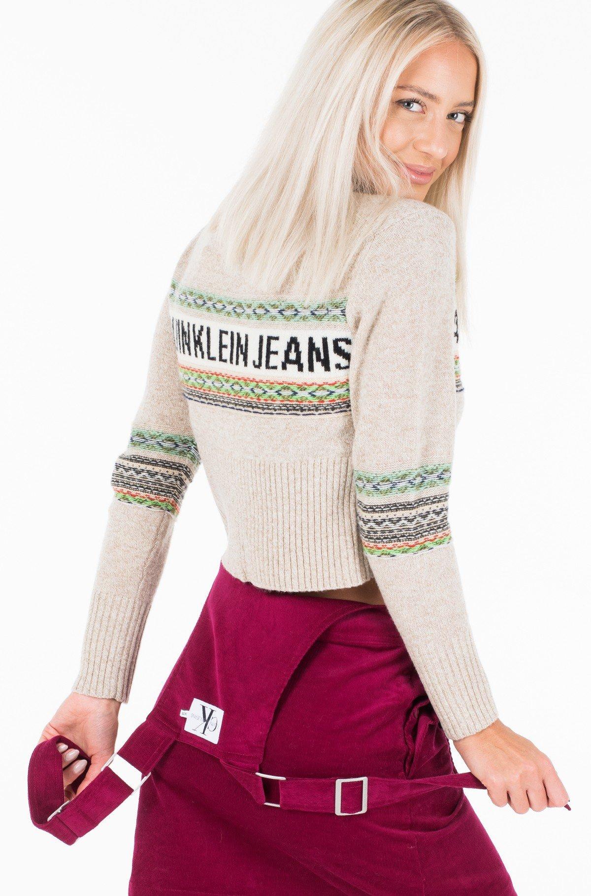 Sweater REVERSE FAIRISLE SWEATER-full-3