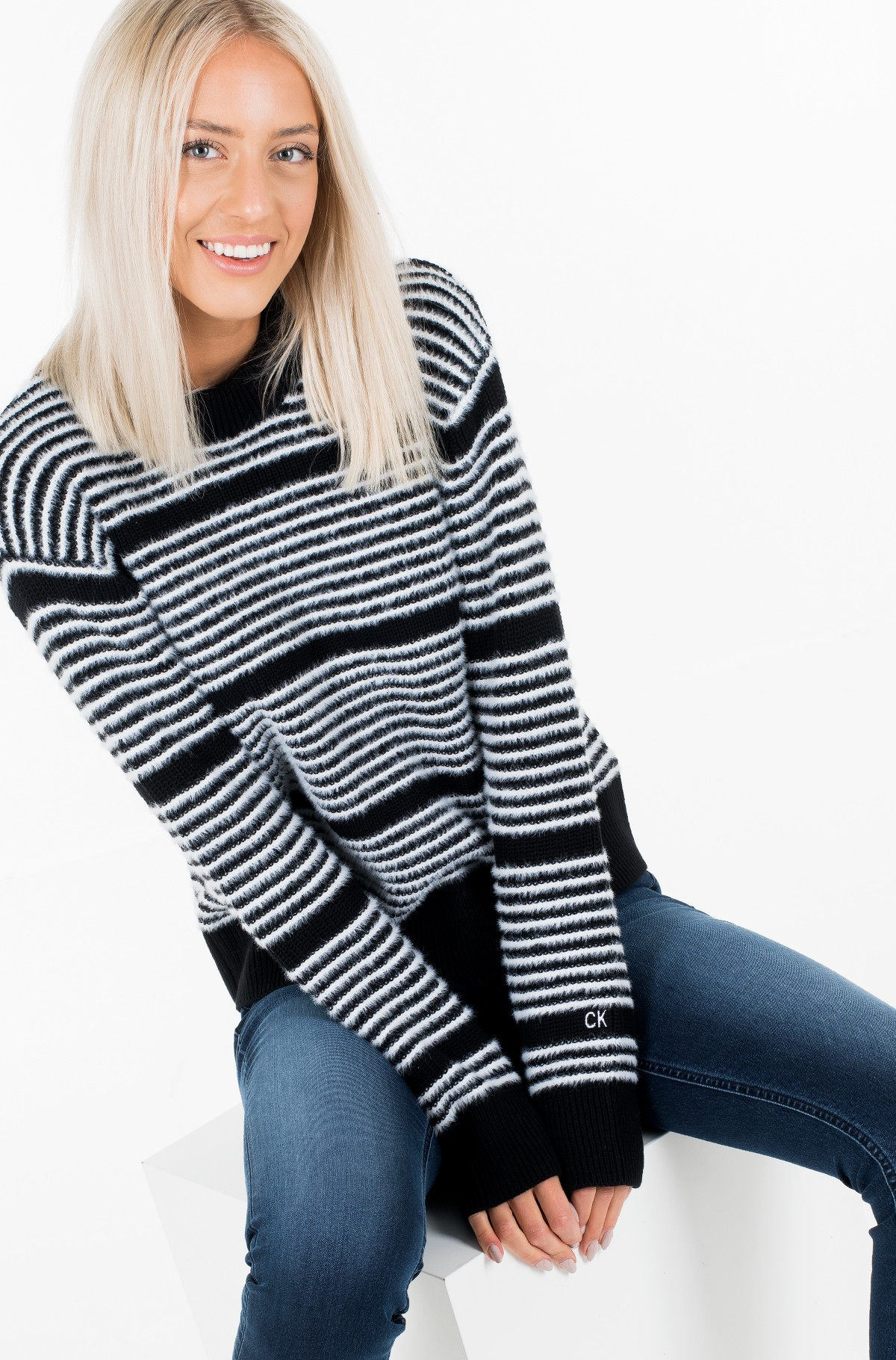 Sweater AD- STRIPE SWEATER-full-1