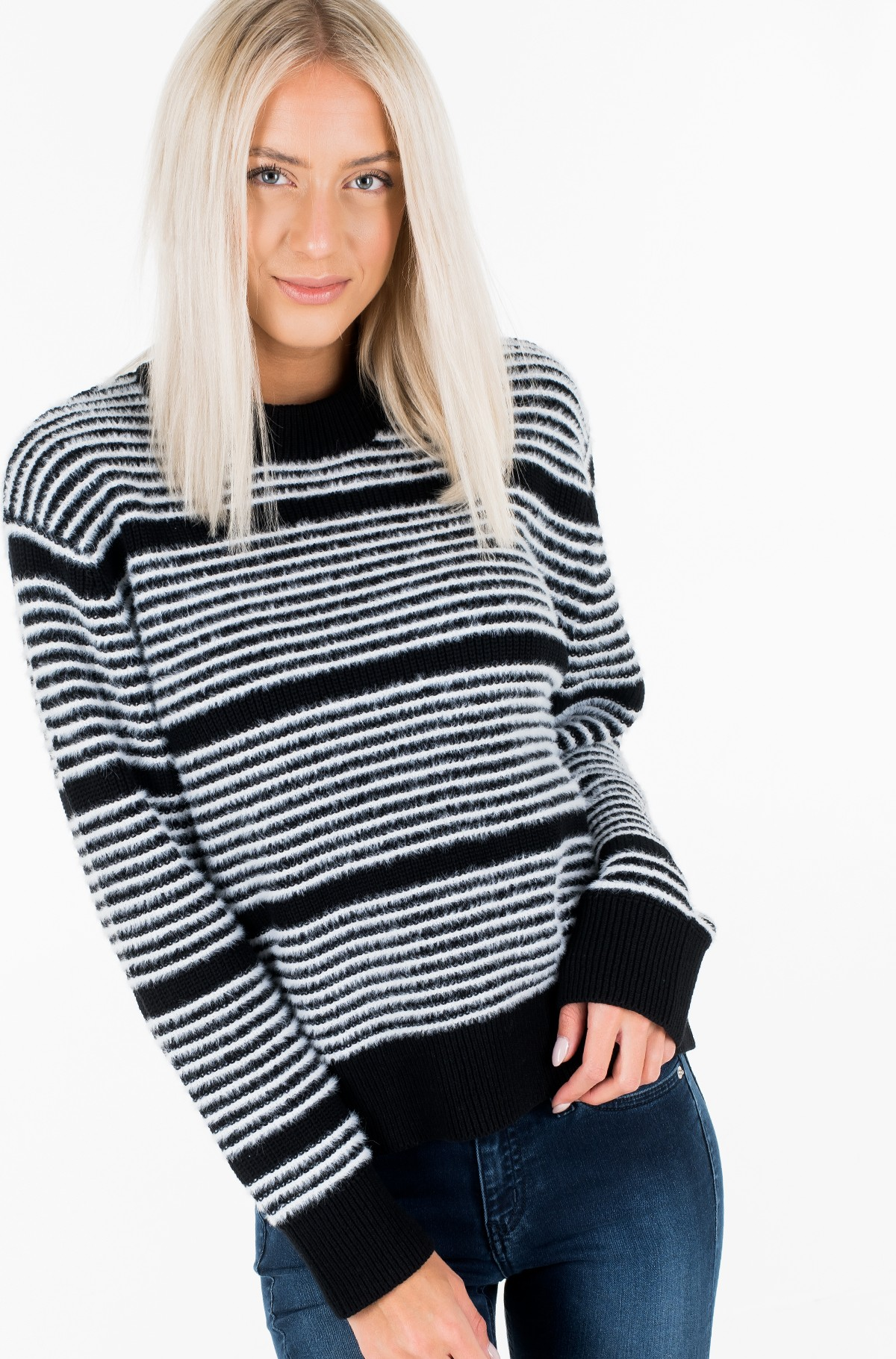 Sweater AD- STRIPE SWEATER-full-2