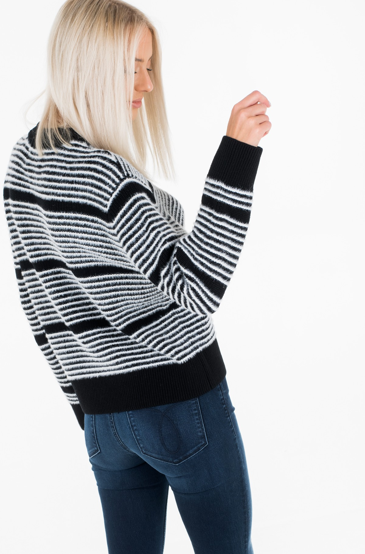 Sweater AD- STRIPE SWEATER-full-3