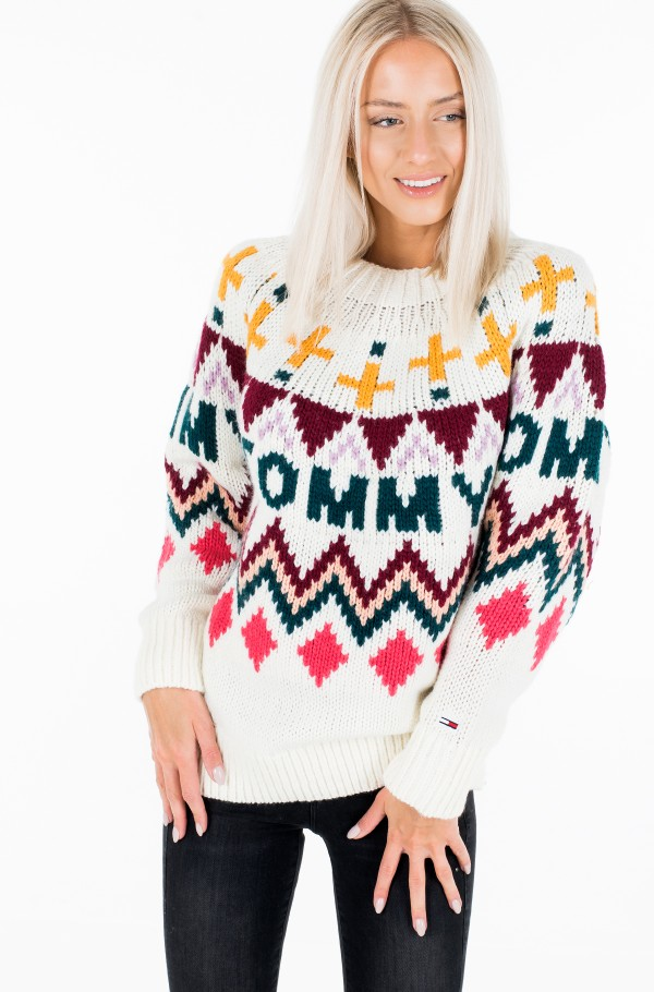 TJW TOMMY FAIRISLE SWEATER