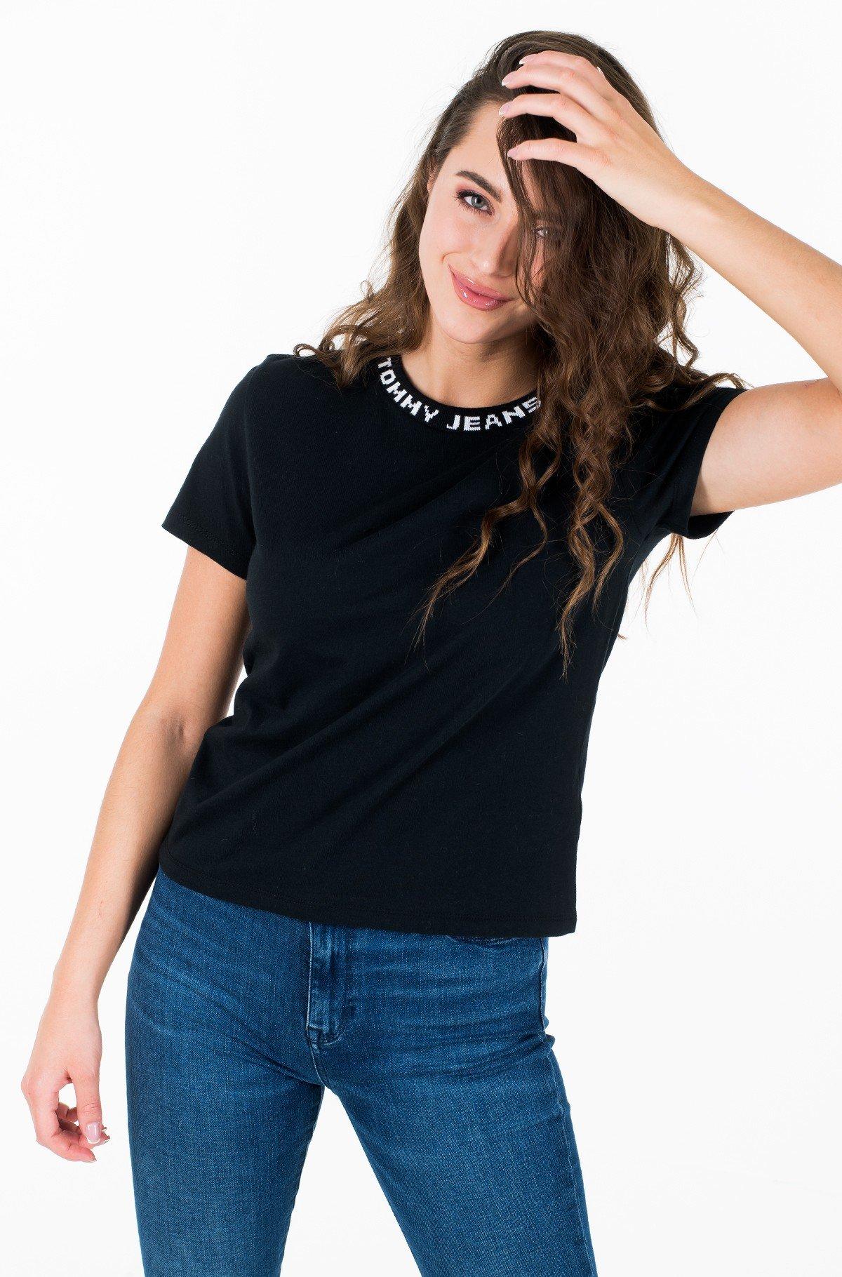 Marškinėliai TJW BRANDED NECK TEE-full-1