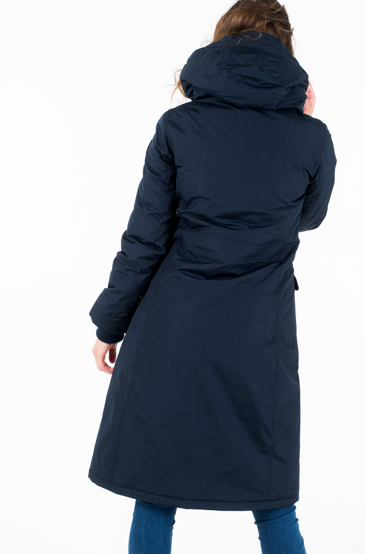 Parka TH ESSENTIAL LONG PADDED PARKA-full-3