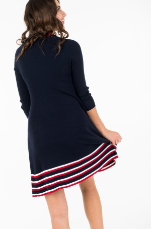 Dress MASYN C-NK SWTR DRESS-3