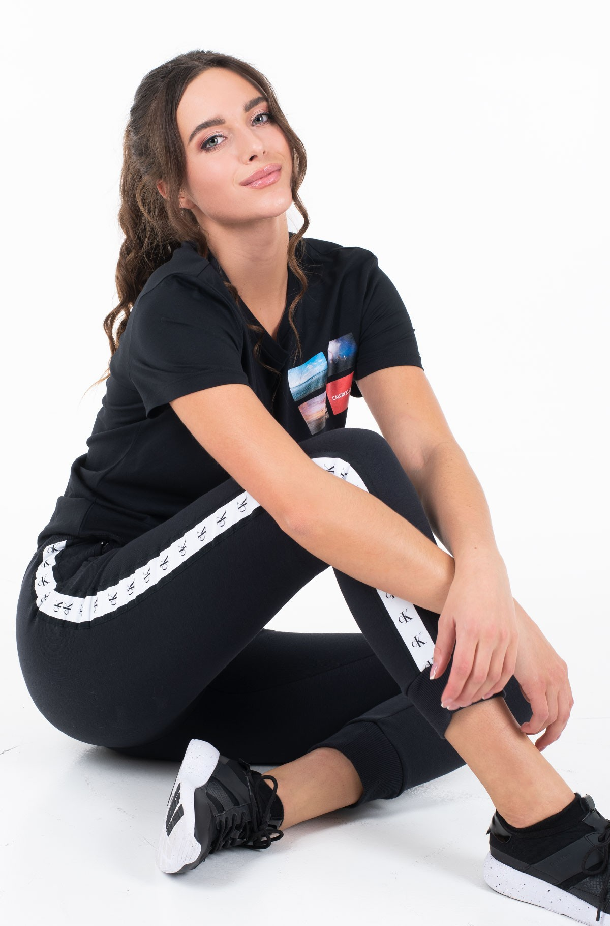 Marškinėliai MULTI PHOTOS MODERN SLIM TEE-full-2