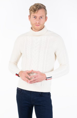 Kudum CABLE ROLL NECK-2