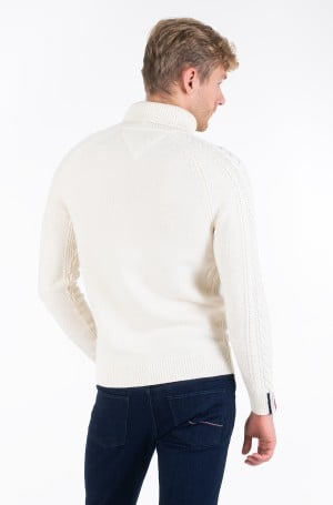 Kudum CABLE ROLL NECK-3