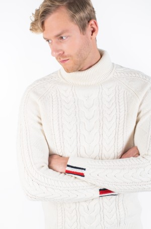 Kudum CABLE ROLL NECK-1